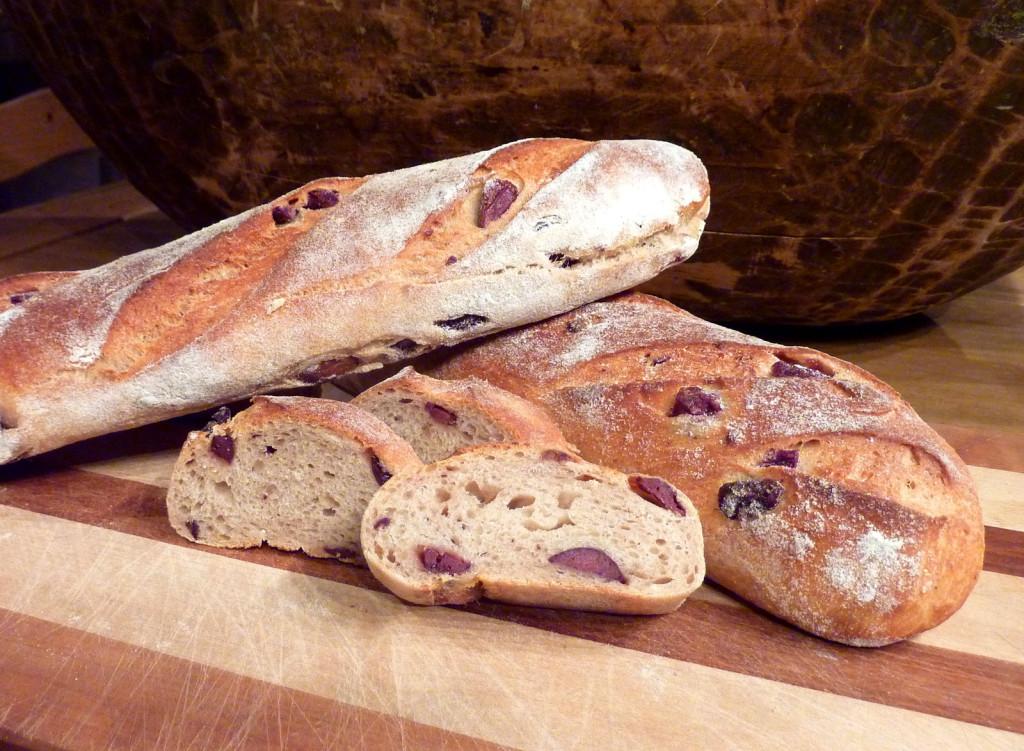Parmesan-Oliven-Brot